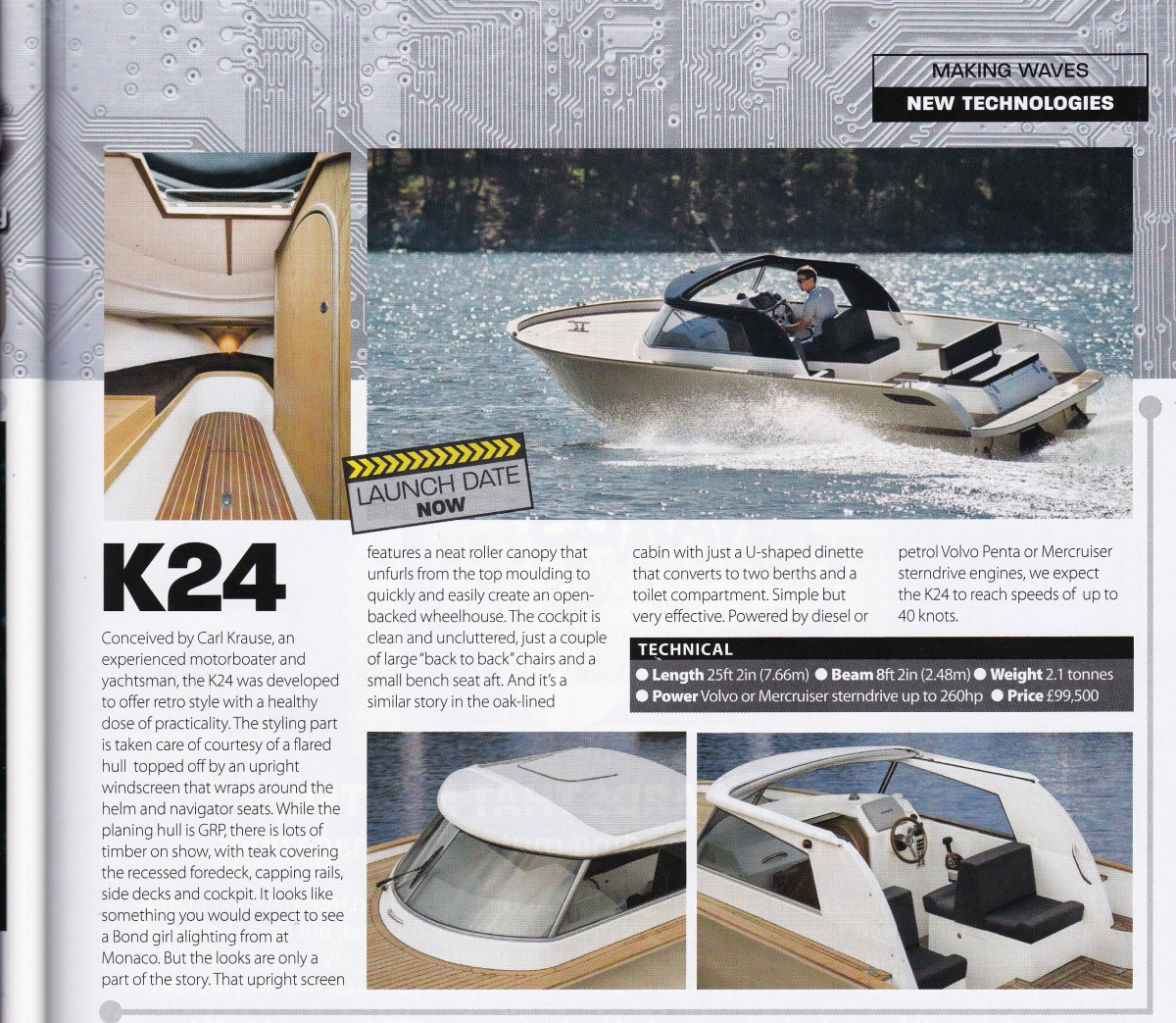 Motor Boats Monthly K24